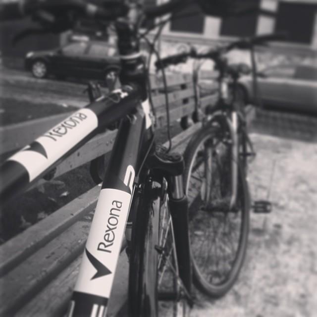 Rexona pe bicicleta