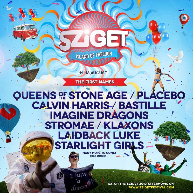 Sziget Festivals 2014