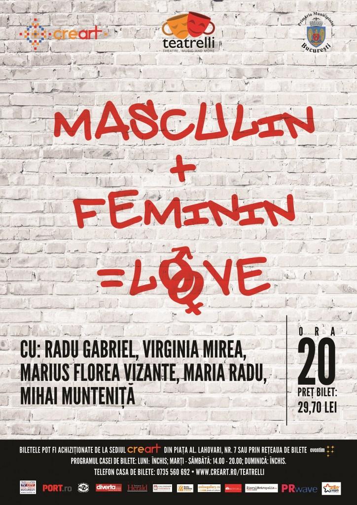 masculin+feminin=LOVE