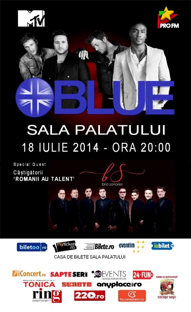 Blue - Sala Palatului 2014
