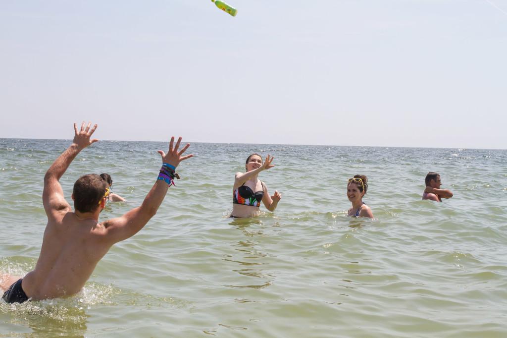 Distractie pe Plaja Lipton