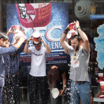 KFC Ice Bucket Challenge