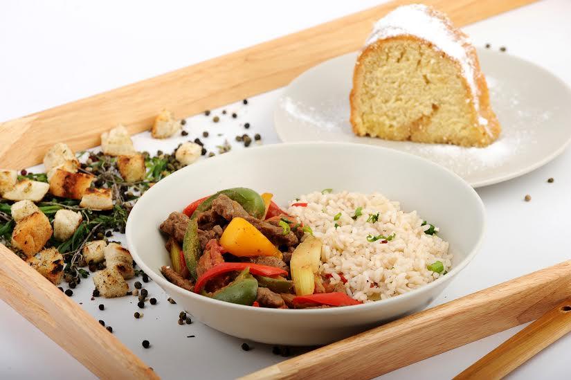 Jamal Food - vita-cu-trei-tipuri-de-ardei si rum cake