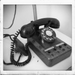 Muzeul Comunicatiilor si Informaticii - telefon