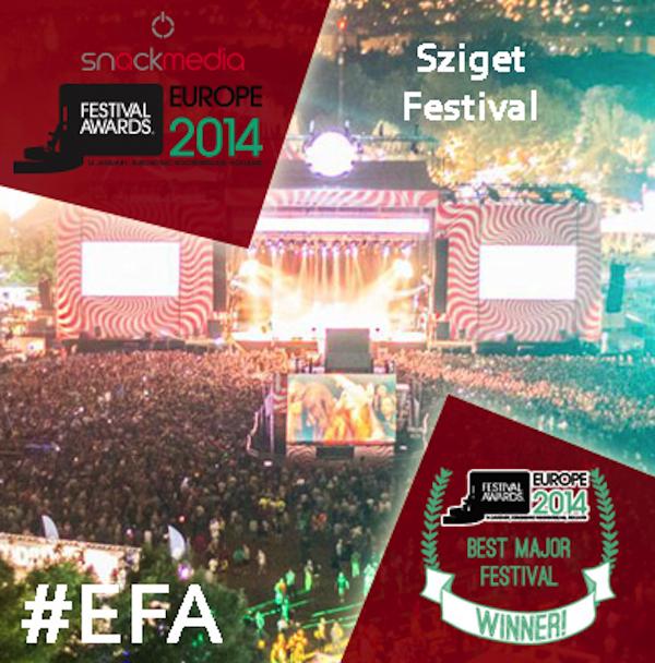 Sziget Festival - EFA