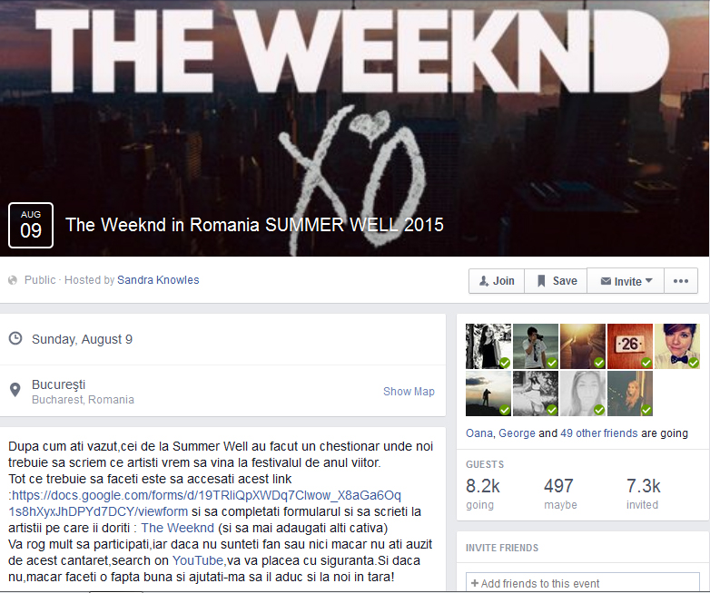The Weeknd  - Summer Well 2015