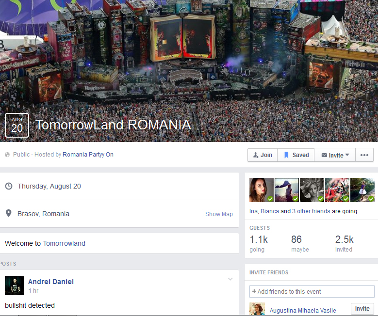 TomorrowLand Romania