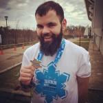 triatlonist fericit