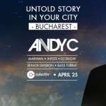 Andy C - Untold Story in Bucharest