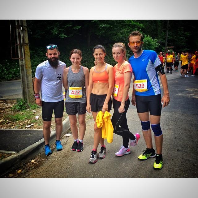 Echipa Bloggerilor la Maratonul DHL - dupa finish