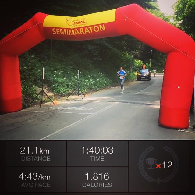 Maratonul DHL - pandutzu