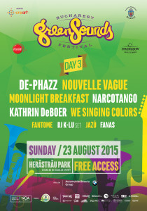 Bucharest Green Sounds 2015 - ziua 3